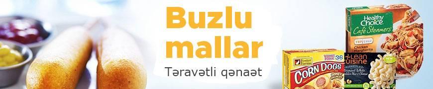 Buzlu dondurulmuş orqanik məhsullar